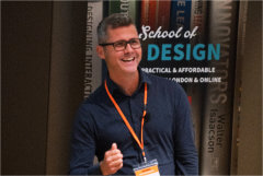 Speaker Tim Allan with the talk on Co-Design Using Games in Healthcare at The UX Conference in September 2018