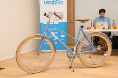Amazing prize for the guests from Usabilla at The UX Conference in September 2018