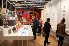Exhibition at the Design Museum after The UX Conference in September 2018 prizes