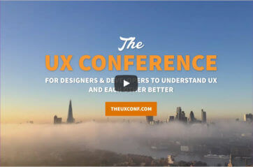 The UX Conference 2017 highlights video