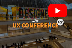 The UX Conference September 2018 highlights video