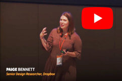 Video recording of Presenting UX Research Findings talk with Paige Bennett from DICE at The UX Conference September 2018